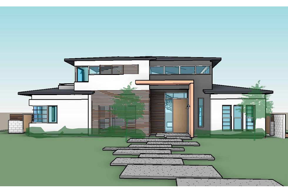 Front Elevation Of House Single Story : Single story front elevation joy studio design gallery